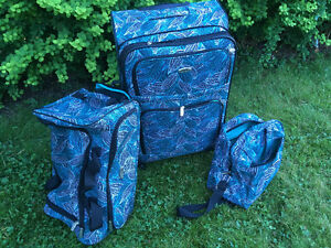 3 Piece wheeled Luggage excellent condition!