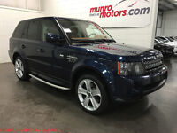 2013 Land Rover Range Rover Sport HSE LUXURY Baltic Blue/ Tan L