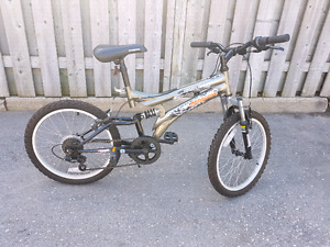 Kids 7 speed mountain bike