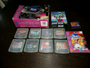 Cib Game Gear with games