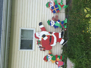 Large Hand Made Christmas Decorations