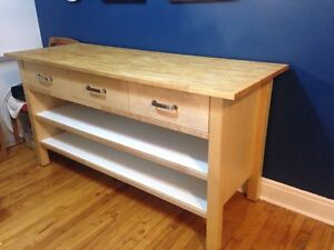 Kitchen Island Ikea Solid wood top