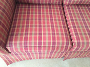 Couch and matching chair in excellent condition