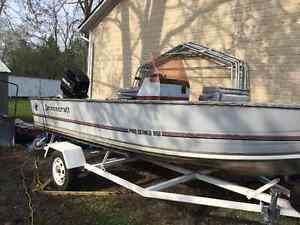 Princecraft Pro series 169 17 foot fishing boat