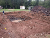Septic, new builds, foundation drainage, land clearing, etc