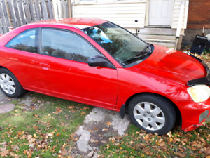 2002 Honda Civic Certified and E-Tested