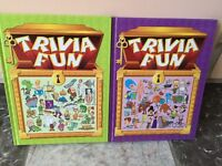 Trivia book - Questions Puzzles Answers
