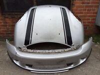 BMW Mini Countryman 2012 2013 2014 genuine front bumper + bonnet for sale in white