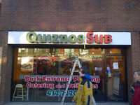 Former Quiznos restaurant now available, open your own place!