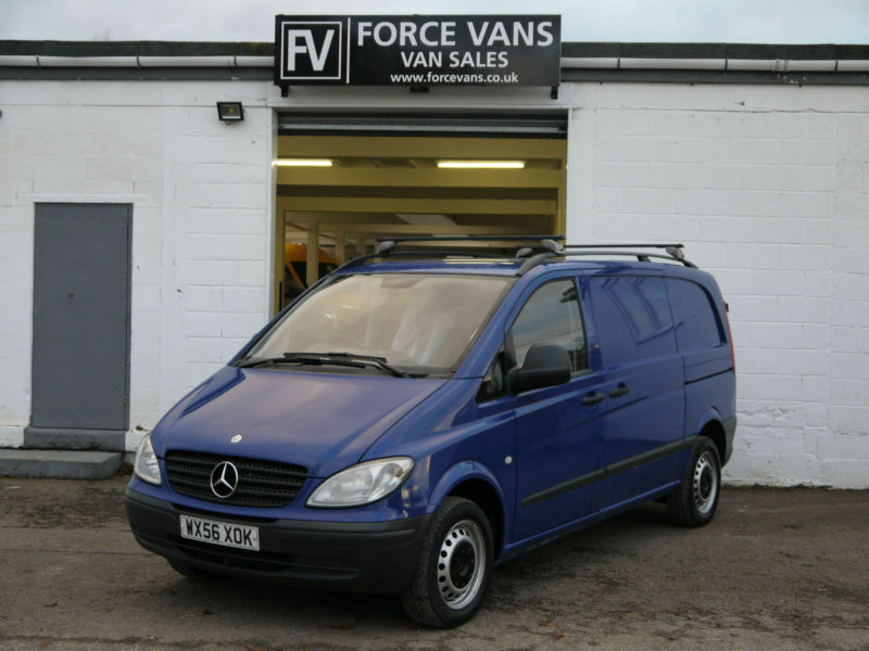 MERCEDES VITO 115CDI MANUAL COMPACT SWB PANEL DUALINER CAMPER DAY DELIVERY VAN