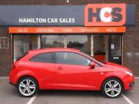 Seat Ibiza 1.4 16v SportCoupe Sport - 1 Yr MOT, Warranty & AA. FINANCE AVAILABLE