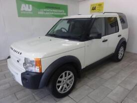 WHITE LAND ROVER DISCOVERY 2.7 3 COMMERCIAL XS ***FROM £191 PER MONTH***
