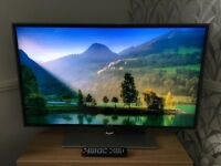 SAMSUNG 3D SMART 40 inch full HD LED Television with 4 pairs of 3D ACTIVE Glasses