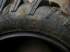 ATV mud tires