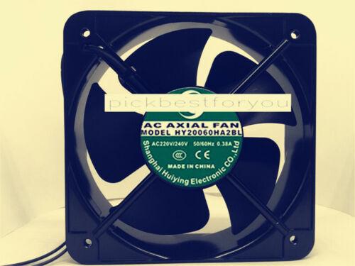 1PC AC AXIAL FAN HY20060HA2BL 220V/240V 0.38A 20CM cooling fan #M139C QL