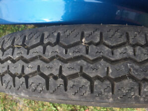 2 STOMIL ANTIQUE CAR TIRES