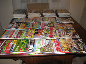 Quilting Magazines - Reduced