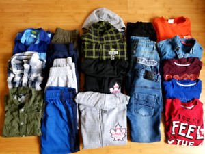 20 pcs boys clothes, size 6-7