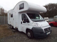 Mooveo C6 6 berth motorhome with large rear garage for sale
