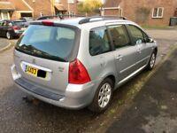 Peugeot 307 2.0hdi estate 2003