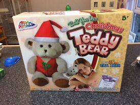 Build your own Christmas teddy bear