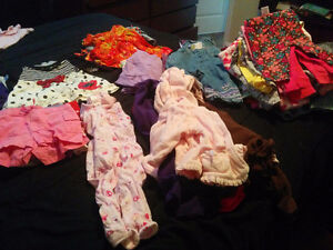 6 Month Like New Baby Girl Lot