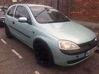 Vauxhall Corsa 1.2 Low Mileage 80k May Px or Swap