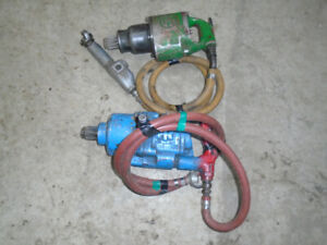 "2 Cles a choc impact CHICAGO PNEUMATIC a bout denteler 1"" 1/2"