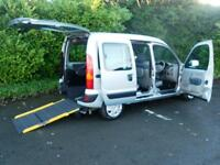 Renault Kangoo 1.6 16v 95 auto Expression Wheelchair Accessible Vehicle 5 seats