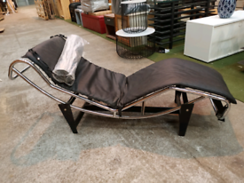 Ex Display Chase Leather Sun Lounger Pool Chair (was £450)