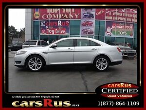 2013 Ford Taurus SEL With Navigation!! Free Unlimited Km Warrant