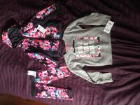 Brand New With Tags Girls Size 2T Oskosh Jacket,Pants,Shirt