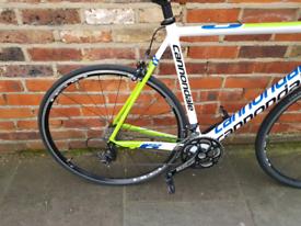 Cannondale SuperSix full carbon road bike size 58cm frame