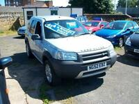 Land Rover Freelander 1.8 2002MY Serengeti Ltd Edn