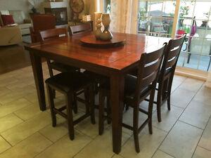 Table et buffet en bois Lac-Saint-Jean Saguenay-Lac-Saint-Jean image 1