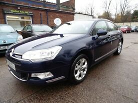 Citroen C5 2.0 HDI 16V VTR+ (12 MONTH MOT + LOW RATE FINANCE AVAILABLE) (blue) 2008