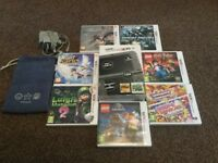 Nintendo NEW 3DS XL + 9 games as new condition!!