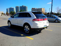 2008 Lincoln MKX SUV, Crossover NAV Back up RARE white int n ext