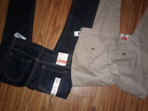 Boys Size 14 Gap Khakis and Old Navy Skinny jeans New with Tags