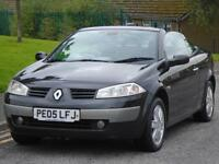 RENAULT MEGANE CABRIOLET 1.6 VVT HARD TOP GLASS CONVERTIBLE