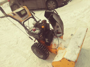 10 hp Snowblower for sale.