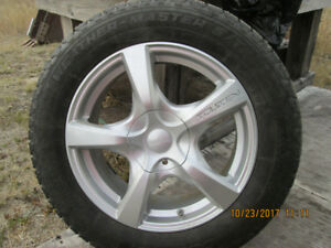 """"""" REDUCED"""" Studded Winter Tires and Rims"""