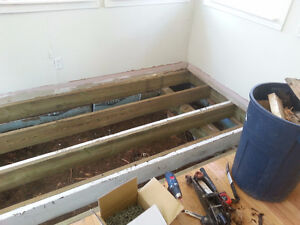 Let's level it unlevel or rotting away we can fix it Kingston Kingston Area image 5