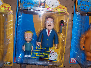 FAMILY GUY SERIES 4 TOM AND JAKE TUCKER ACTION FIGURE