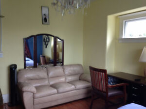 Furnished rooms ava July 1, 245/week, construction workers OK