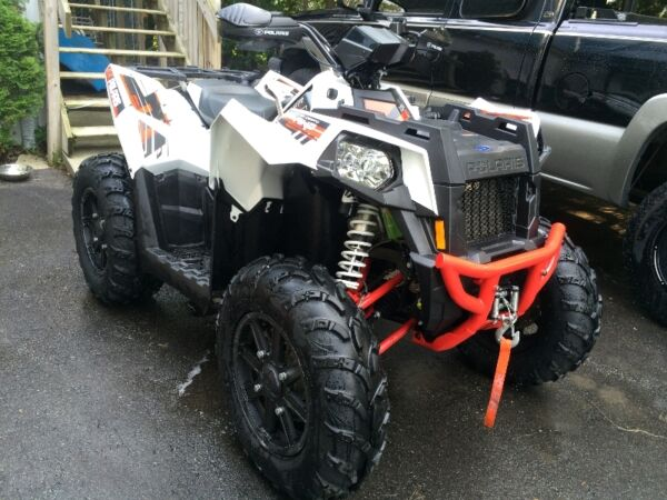 Used 1000 Polaris scrambler