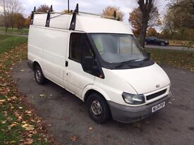 Ford transit MWB 2004 drives great new clutch