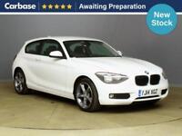 2014 BMW 1 SERIES 118d SE 3dr Step Auto