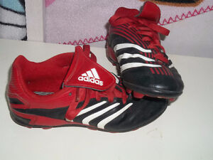 Adidas Soccer shoes size.2 $20