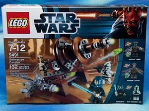 NIB LEGO STAR WARS Geonosian Cannon 9491